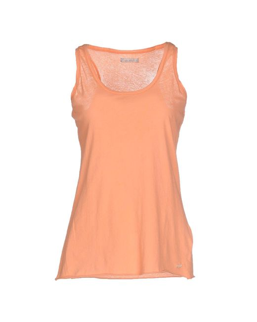 40weft - Pink Tank Top - Lyst