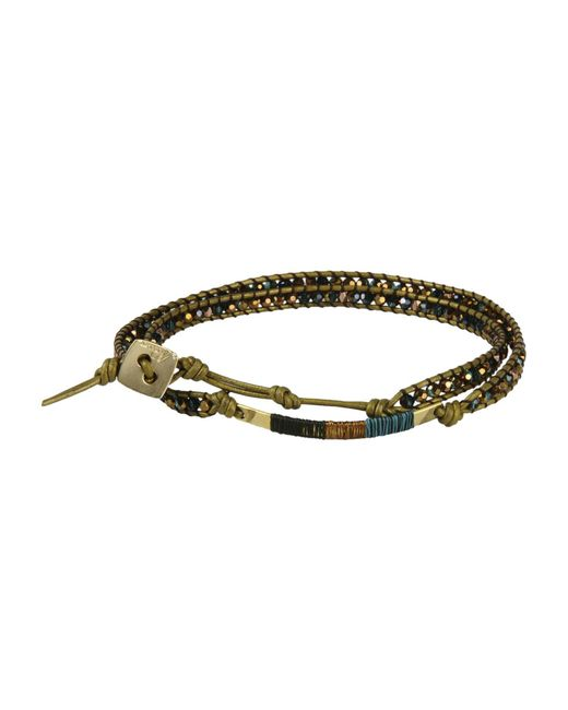 Nakamol   Green Bracelet   Lyst