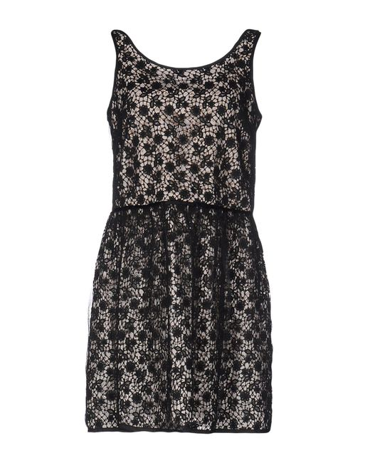 RED Valentino - Black Short Dresses - Lyst