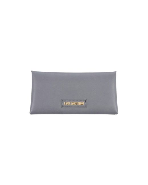 Love Moschino - Gray Wallets - Lyst