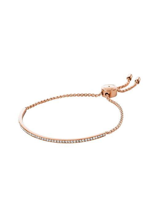 Michael Kors - Pink Bracelets - Lyst
