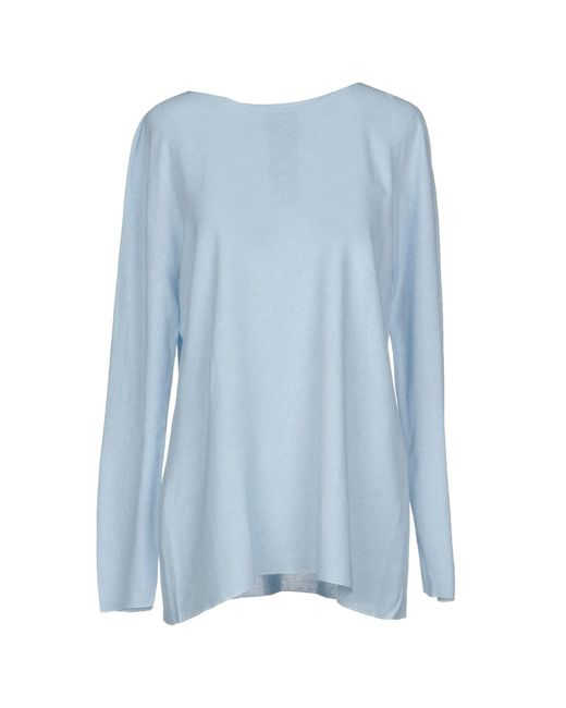 Giorgio Armani - Blue Sweater - Lyst