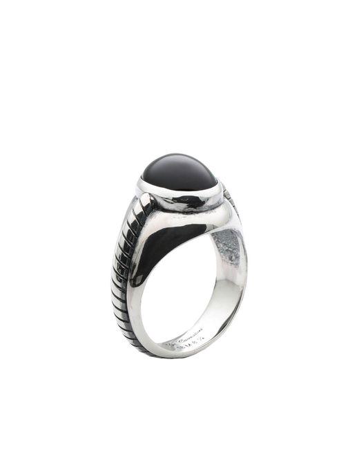 Ugo Cacciatori - Metallic Ring for Men - Lyst