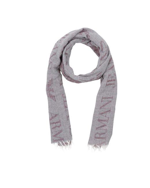 Armani Jeans - Gray Oblong Scarves - Lyst