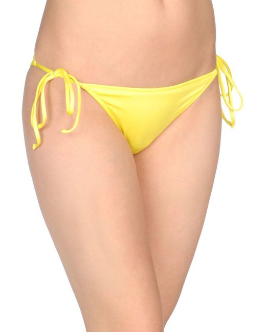 Patrizia Pepe - Yellow Swim Briefs - Lyst