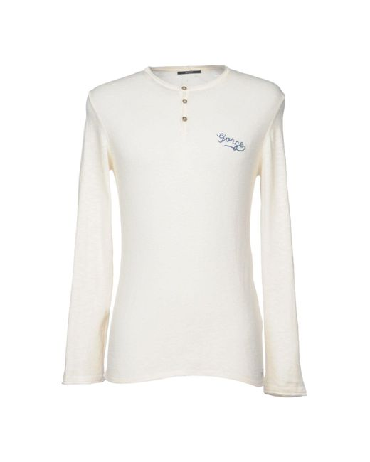 Meltin' Pot - White Jumper for Men - Lyst