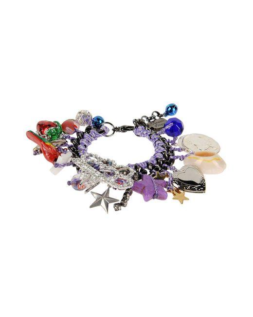 Venessa Arizaga   Purple Bracelet   Lyst