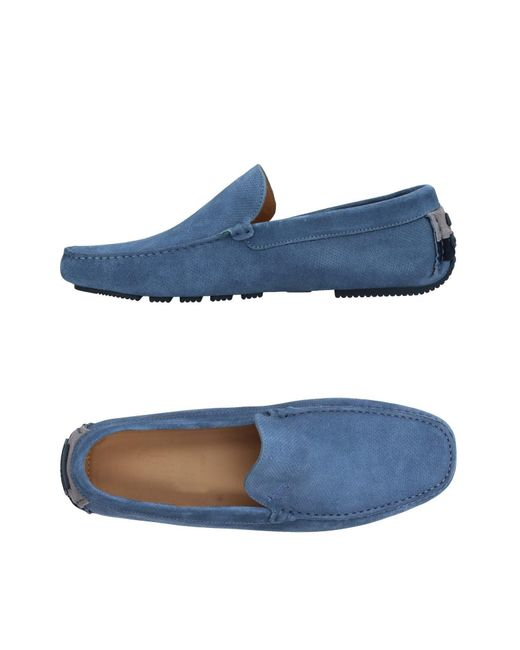 Harmont & Blaine | Blue Loafer for Men | Lyst