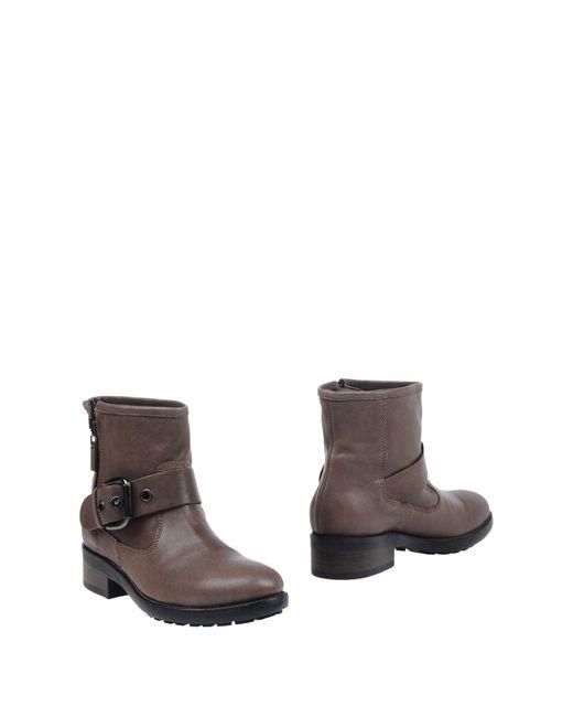Alberto Gozzi - Gray Ankle Boots - Lyst