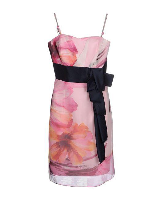 Carlo Pignatelli - Pink Knee-length Dresses - Lyst