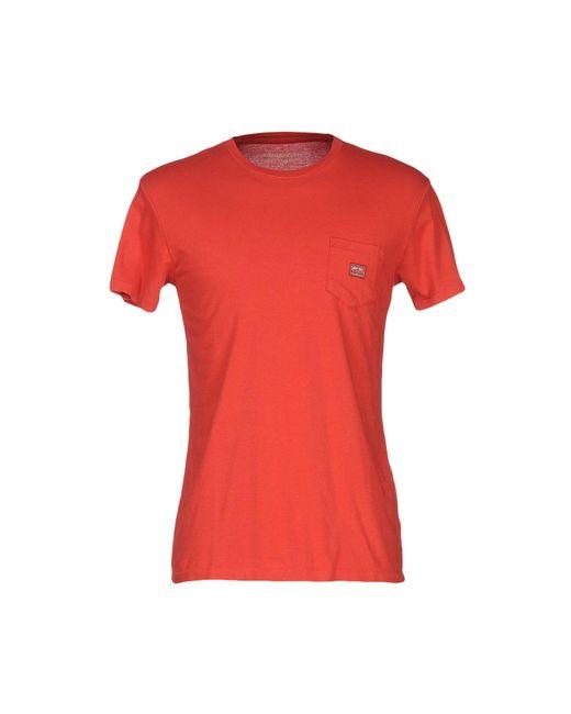 Denim & Supply Ralph Lauren - Red T-shirt for Men - Lyst