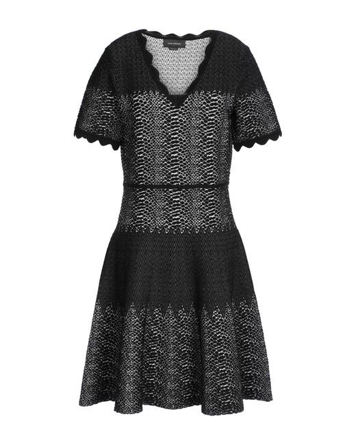 Yigal Azrouël - Black Short Dress - Lyst