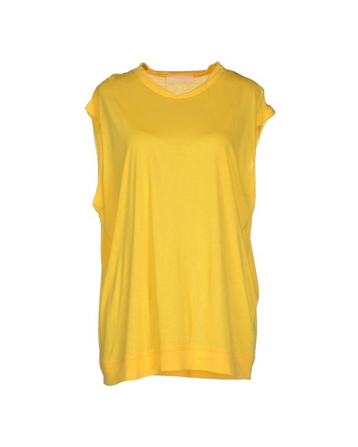 Mauro Grifoni - Yellow T-shirt - Lyst