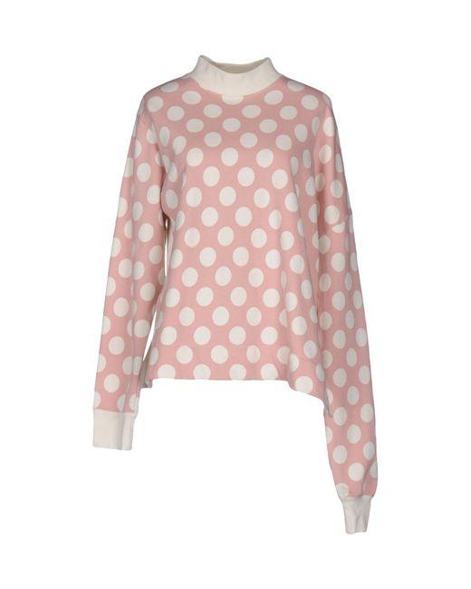 Marni | Pink Sweatshirt | Lyst