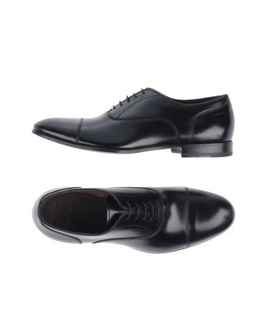 Green George - Black Lace-up Shoe for Men - Lyst