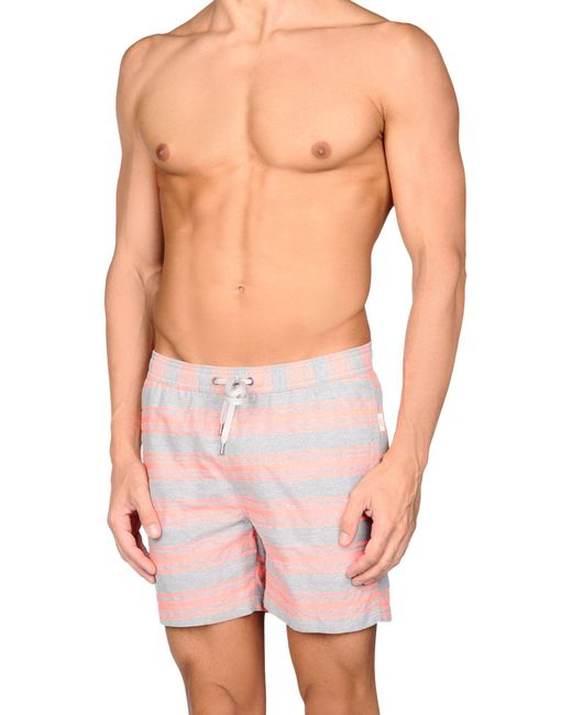 Onia - Gray Swim Trunks for Men - Lyst