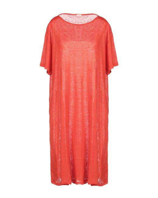 A.B Apuntob - Red Short Dress - Lyst