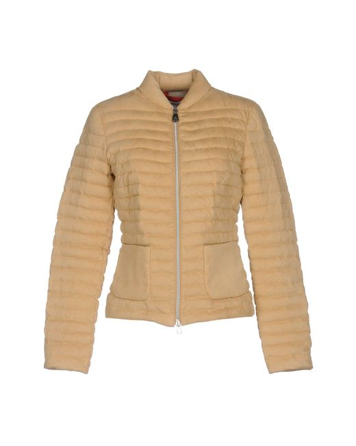 Peuterey | Natural Down Jacket | Lyst