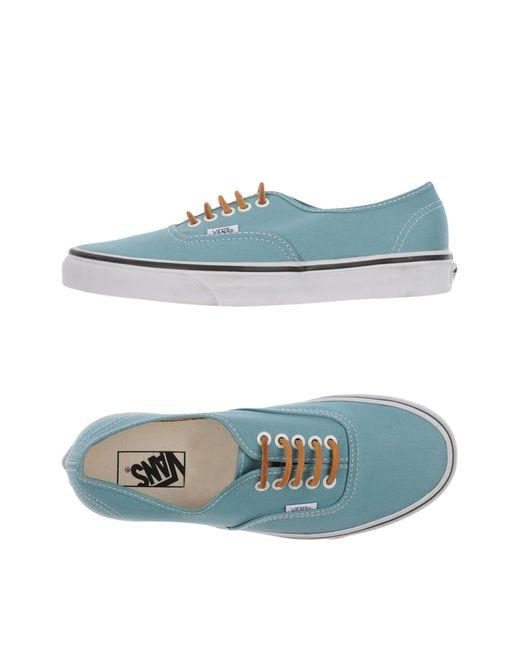 Vans | Blue Low-tops & Sneakers for Men | Lyst