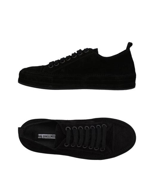 Ann Demeulemeester - Black Low-tops & Sneakers - Lyst