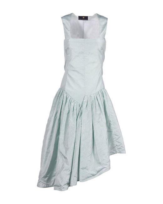 Wes Gordon - Green Knee-length Dress - Lyst