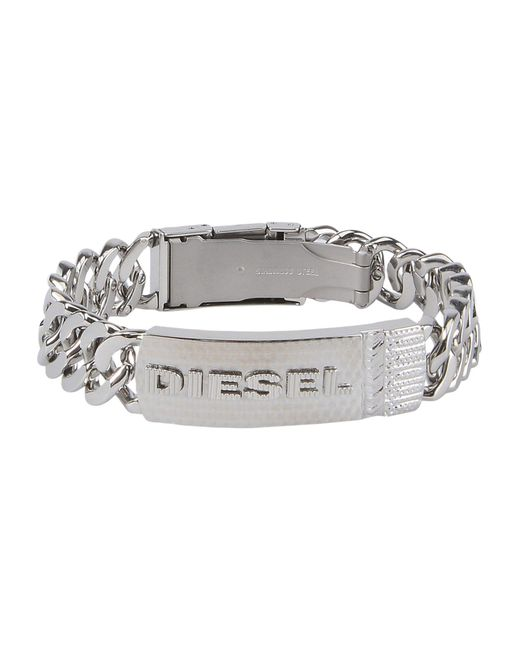 DIESEL - Metallic Bracelet for Men - Lyst