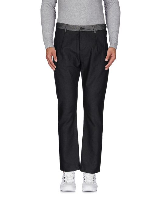 Low Brand - Gray Casual Pants for Men - Lyst