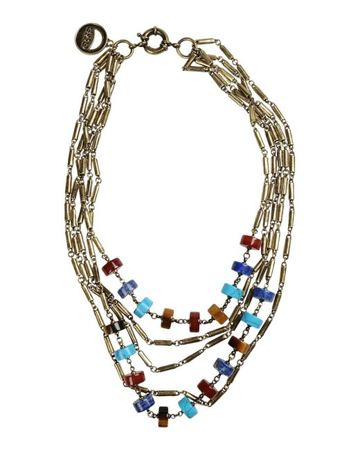 Giles & Brother   Metallic Necklace   Lyst