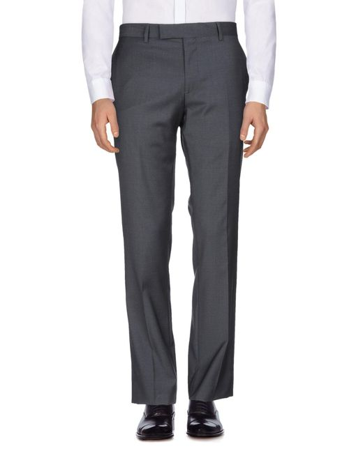 PS by Paul Smith - Gray Casual Trouser for Men - Lyst