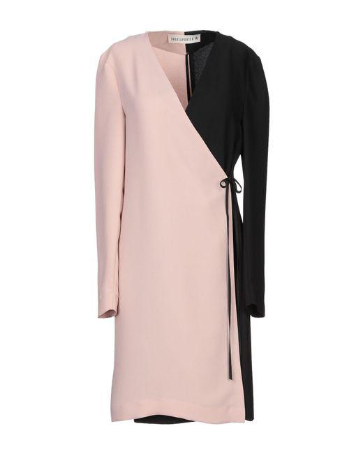 Shirtaporter Pink Short Dress