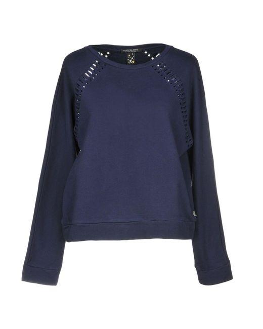 Maison Scotch - Blue Sweatshirts - Lyst