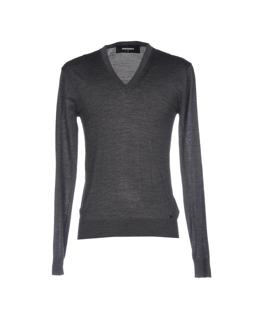 DSquared² - Gray Sweaters for Men - Lyst