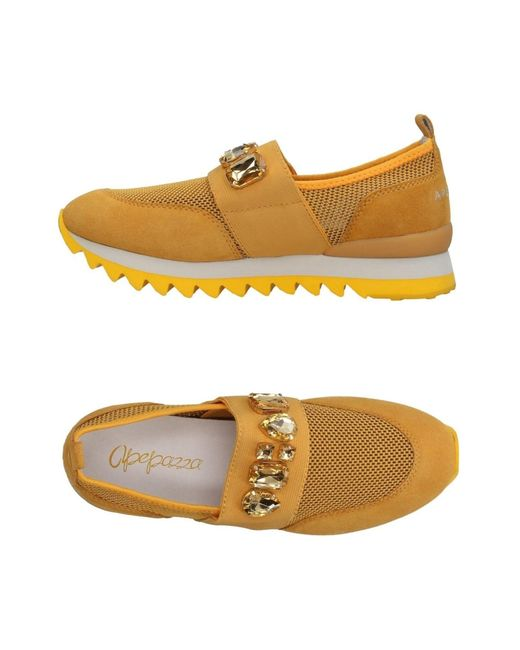 Apepazza - Yellow Low-tops & Sneakers - Lyst