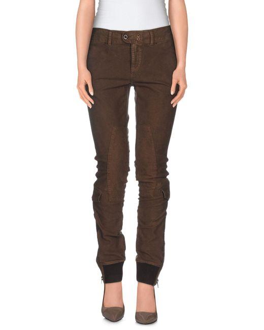 Ralph Lauren   Brown Casual Pants   Lyst