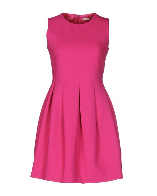 Mauro Grifoni - Purple Short Dress - Lyst
