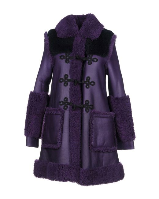 Philosophy Di Lorenzo Serafini - Purple Coat - Lyst