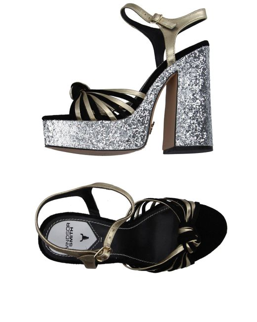 Windsor Smith - Black Sandals - Lyst