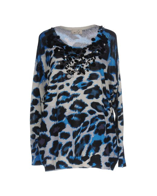 Ki6? Who Are You? - Blue Jumper - Lyst