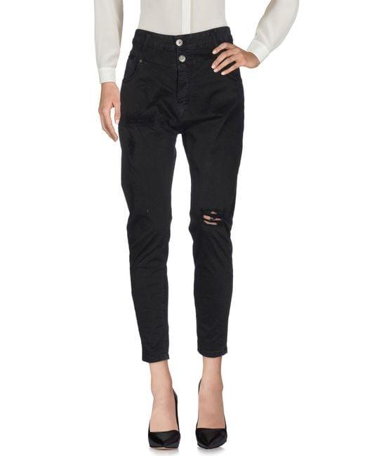 Klixs Jeans - Black Casual Trouser - Lyst