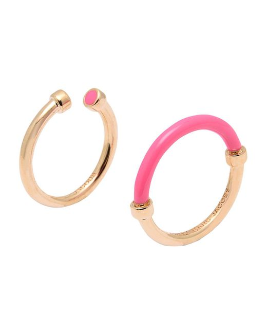 Marc By Marc Jacobs - Pink Ring - Lyst