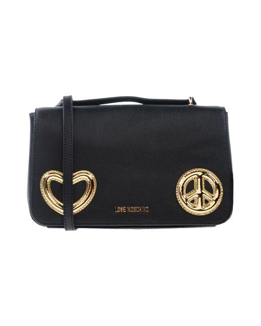 Love Moschino - Black Cross-body Bags - Lyst