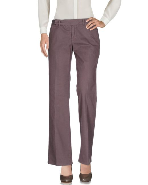 Jucca | Brown Casual Trouser | Lyst