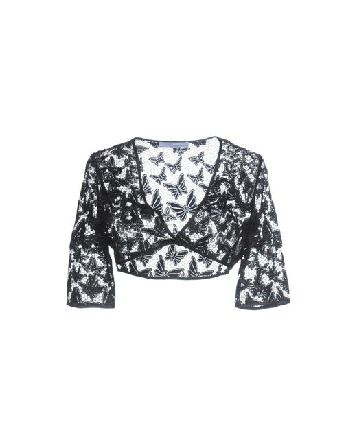 Blumarine - Black Shrug - Lyst