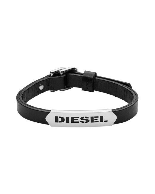 DIESEL   Black Bracelet for Men   Lyst