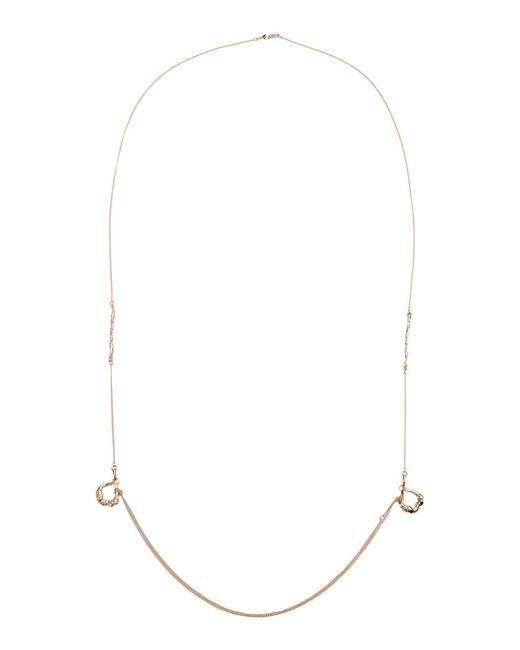 Tamara Akcay   Metallic Necklace   Lyst