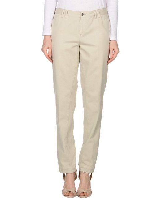 Pt0w - White Casual Pants - Lyst