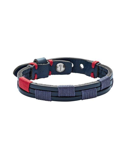Fossil - Blue Bracelets for Men - Lyst
