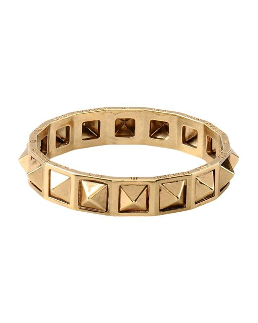 John Richmond - Metallic Bracelet - Lyst