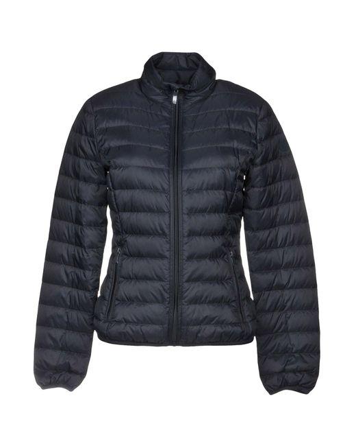 Armani Jeans - Blue Down Jacket - Lyst