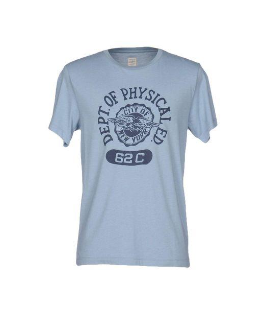 J.Crew - Blue T-shirt for Men - Lyst
